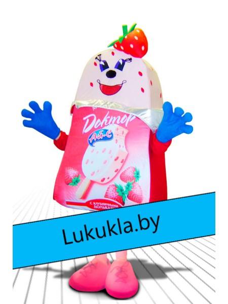 """Ростовая кукла """"Мороженое Клубника"""""""